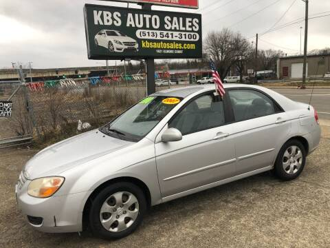 2007 Kia Spectra for sale at KBS Auto Sales in Cincinnati OH