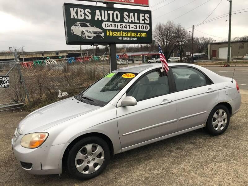 2007 Kia Spectra for sale at KBS Auto Sales in Cincinnati OH