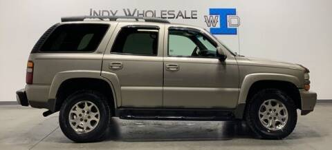 2002 Chevrolet Tahoe for sale at Indy Wholesale Direct in Carmel IN