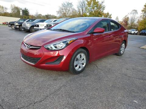 2016 Hyundai Elantra for sale at Cruisin' Auto Sales in Madison IN