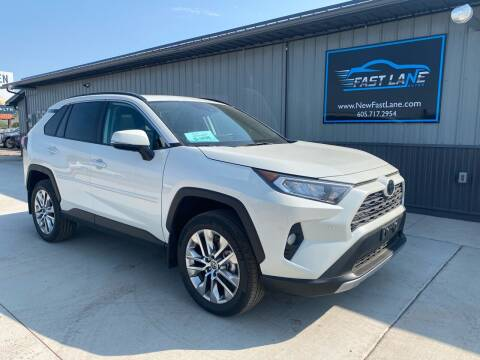 2021 Toyota RAV4 for sale at FAST LANE AUTOS in Spearfish SD