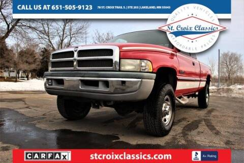 1997 Dodge Ram Pickup 2500 for sale at St. Croix Classics in Lakeland MN