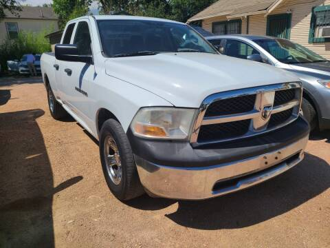 2011 RAM Ram Pickup 1500 for sale at S & J Auto Group in San Antonio TX