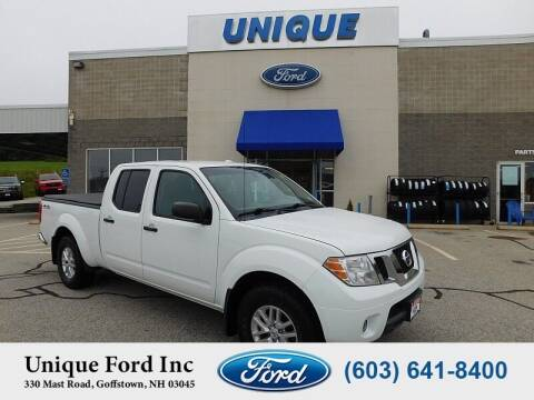 2015 Nissan Frontier for sale at Unique Motors of Chicopee - Unique Ford in Goffstown NH