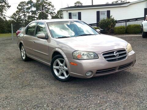 2003 Nissan Maxima for sale at Let's Go Auto Of Columbia in West Columbia SC