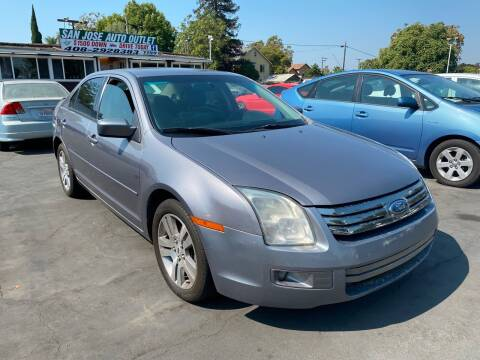 2007 Ford Fusion for sale at San Jose Auto Outlet in San Jose CA