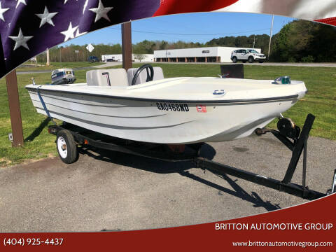 1965 Starcraft SEA SPORT for sale at Britton Automotive Group in Loganville GA
