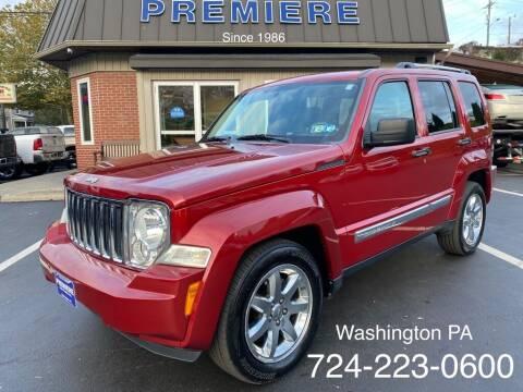 2010 Jeep Liberty for sale at Premiere Auto Sales in Washington PA