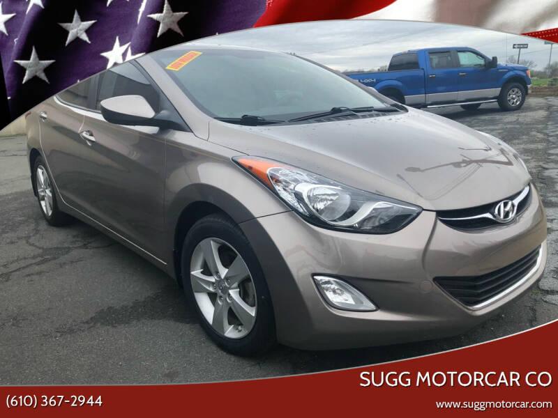 2013 Hyundai Elantra for sale at Sugg Motorcar Co in Boyertown PA