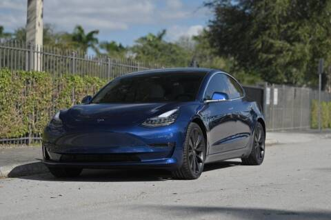 2020 Tesla Model 3 for sale at EURO STABLE in Miami FL