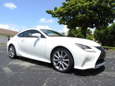 2015 Lexus RC 350 for sale at SUPER DEAL MOTORS 441 in Hollywood FL