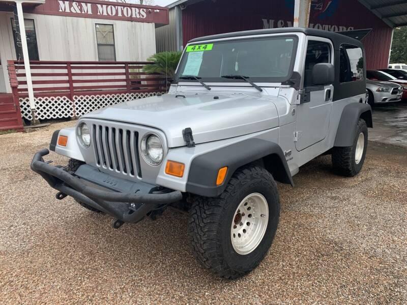 2005 Jeep Wrangler for sale at M & M Motors in Angleton TX