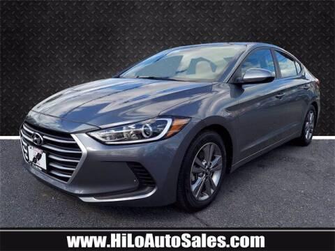 2018 Hyundai Elantra for sale at Hi-Lo Auto Sales in Frederick MD