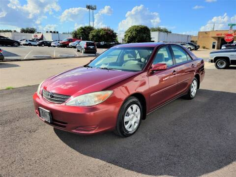 2003 Toyota Camry for sale at Image Auto Sales in Dallas TX