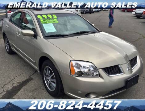 2004 Mitsubishi Galant for sale at Emerald Valley Auto Sales in Des Moines WA