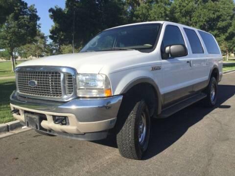 2000 Ford Excursion for sale at Del Sol Auto Sales in Las Vegas NV