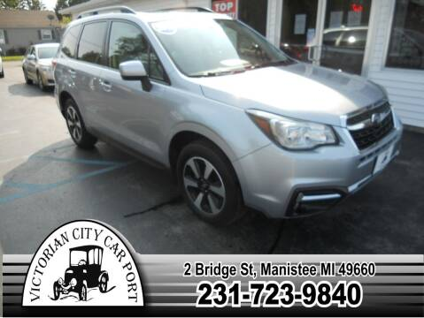 2018 Subaru Forester for sale at Victorian City Car Port INC in Manistee MI