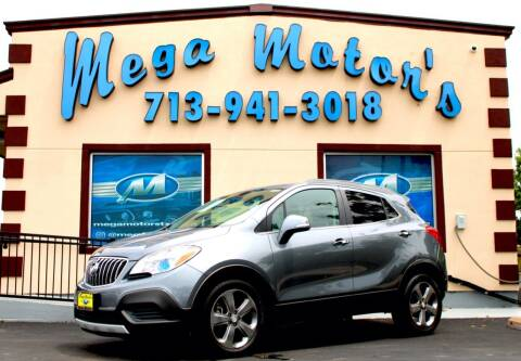 2014 Buick Encore for sale at MEGA MOTORS in South Houston TX