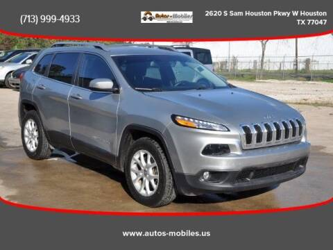 2015 Jeep Cherokee for sale at AUTOS-MOBILES in Houston TX