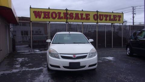2008 Saturn Aura for sale at LONG BROTHERS CAR COMPANY in Cleveland OH