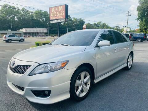 2010 Toyota Camry for sale at A & M Auto Sales, Inc in Alabaster AL