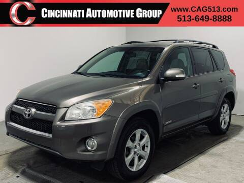 2011 Toyota RAV4 for sale at Cincinnati Automotive Group in Lebanon OH