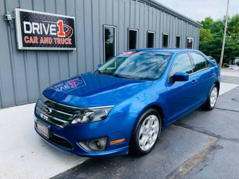2011 Ford Fusion for sale at Drive 1 Car & Truck in Springfield OH