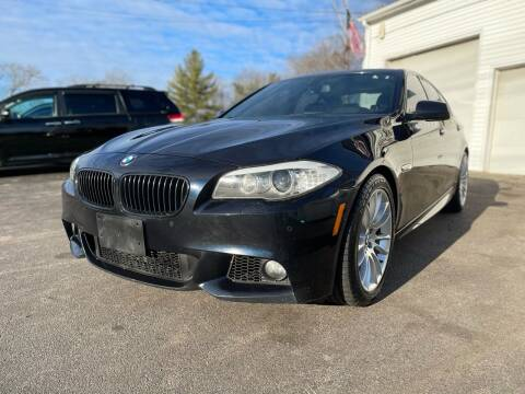 2013 BMW 5 Series for sale at SOUTH SHORE AUTO GALLERY, INC. in Abington MA