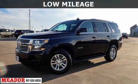 2017 Chevrolet Tahoe for sale at Meador Dodge Chrysler Jeep RAM in Fort Worth TX