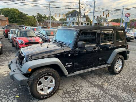 2011 Jeep Wrangler Unlimited for sale at Masic Motors, Inc. in Harrisburg PA
