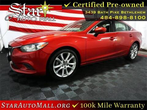 2017 Mazda MAZDA6 for sale at STAR AUTO MALL 512 in Bethlehem PA