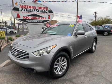 2010 Infiniti FX35 for sale at Arizona Drive LLC in Tucson AZ