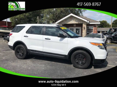 2013 Ford Explorer for sale at Auto Liquidation in Springfield MO