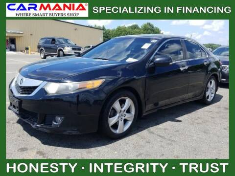 2010 Acura TSX for sale at CARMANIA LLC in Chesapeake VA