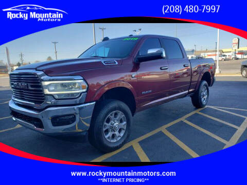 2019 RAM Ram Pickup 2500 for sale at Rocky Mountain Motors in Idaho Falls ID