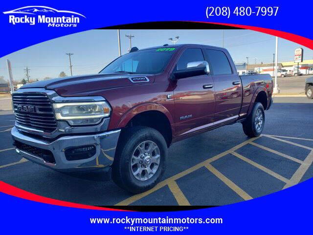 2019 RAM Ram Pickup 2500 for sale at Rocky Mountain Motors in Idaho Falls ID
