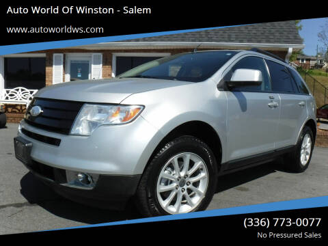 2010 Ford Edge for sale at Auto World Of Winston - Salem in Winston Salem NC