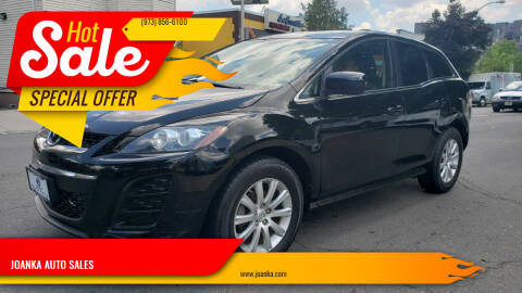 2011 Mazda CX-7 for sale at JOANKA AUTO SALES in Newark NJ
