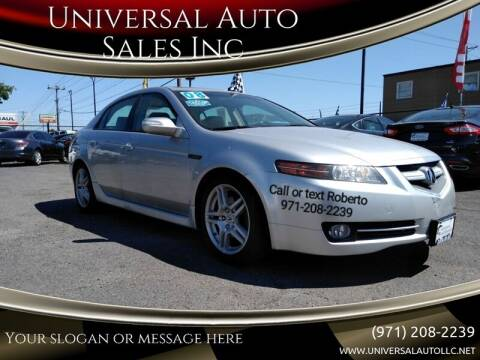 2008 Acura TL for sale at Universal Auto Sales Inc in Salem OR