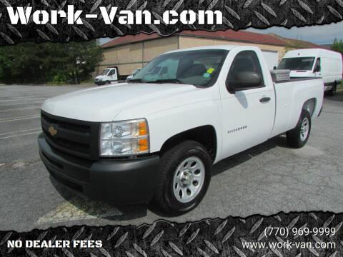 2013 Chevrolet Silverado 1500 for sale at Work-Van.com in Union City GA