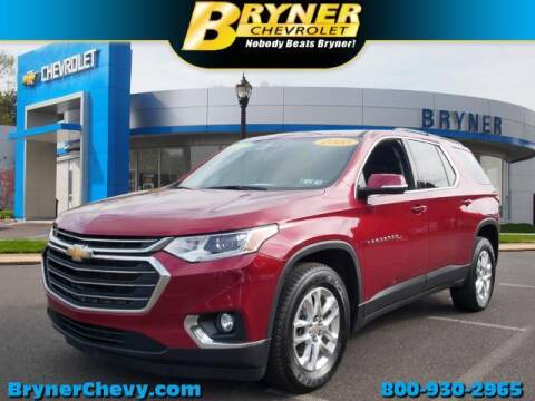 2020 Chevrolet Traverse for sale at BRYNER CHEVROLET in Jenkintown PA