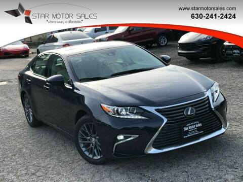 2018 Lexus ES 350 for sale at Star Motor Sales in Downers Grove IL