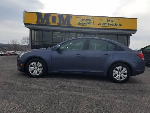 2014 Chevrolet Cruze for sale at MnM The Next Generation in Jefferson City MO