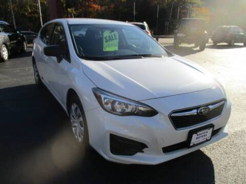 2017 Subaru Impreza for sale at Route 4 Motors INC in Epsom NH