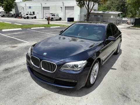 2013 BMW 7 Series for sale at Best Price Car Dealer in Hallandale Beach FL