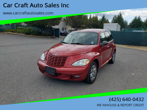 2003 Chrysler PT Cruiser for sale at Car Craft Auto Sales Inc in Lynnwood WA