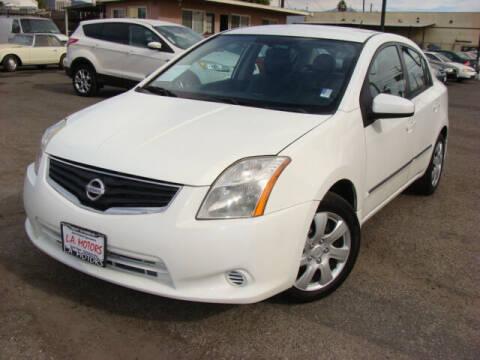2012 Nissan Sentra for sale at L.A. Motors in Azusa CA