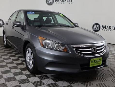 2011 Honda Accord for sale at Markley Motors in Fort Collins CO