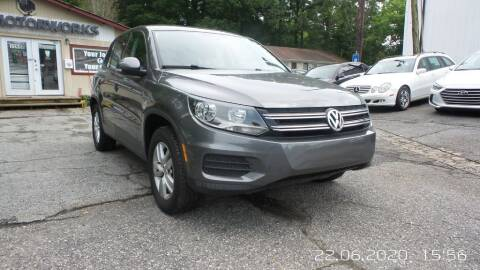 2012 Volkswagen Tiguan for sale at E-Motorworks in Roswell GA