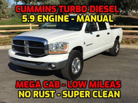 2006 Dodge Ram Pickup 3500 for sale at OC Used Auto in Newport Beach CA